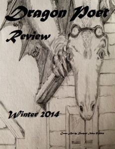 Winter 2014 Cover of Dragon Poet Review